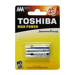 باتری نیم قلمی توشیبا مدل High Power BP-2 بسته 2 عددی - 1