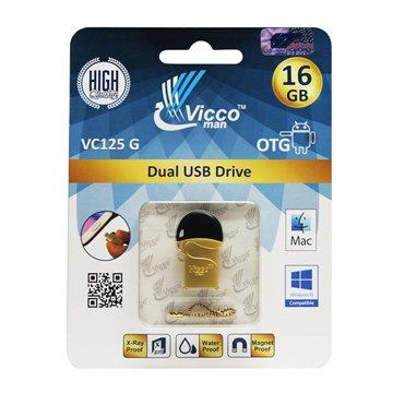 فلش مموری OTG ویکومن مدل VC125 ظرفیت 16 گیگابایت