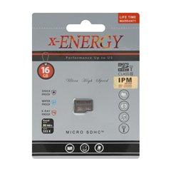 کارت حافظه Micro SDHC ایکس انرژی 533X استاندارد UHS-I U1 ظرفیت 16 گیگابایت کلاس 10-1
