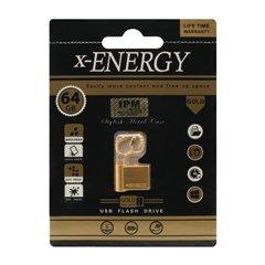 فلش مموری ایکس انرژی مدل Gold ظرفیت 64 گیگابایت - 1