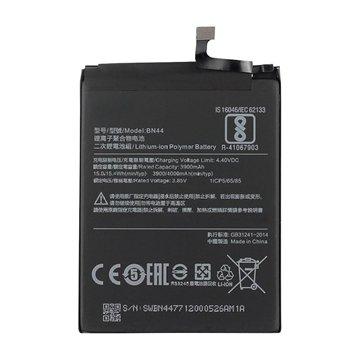 باتری اورجینال شیائومی Redmi Note 5 مدل BN44 ظرفیت 3900 میلی آمپر ساعت